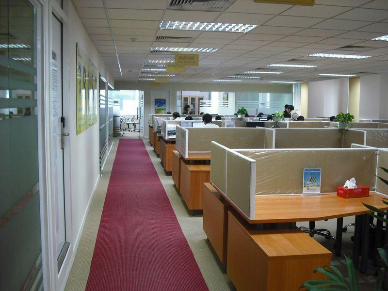 Thiết kế văn phòng đẹp hiện đại