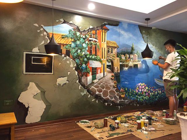 sơn vẽ tường