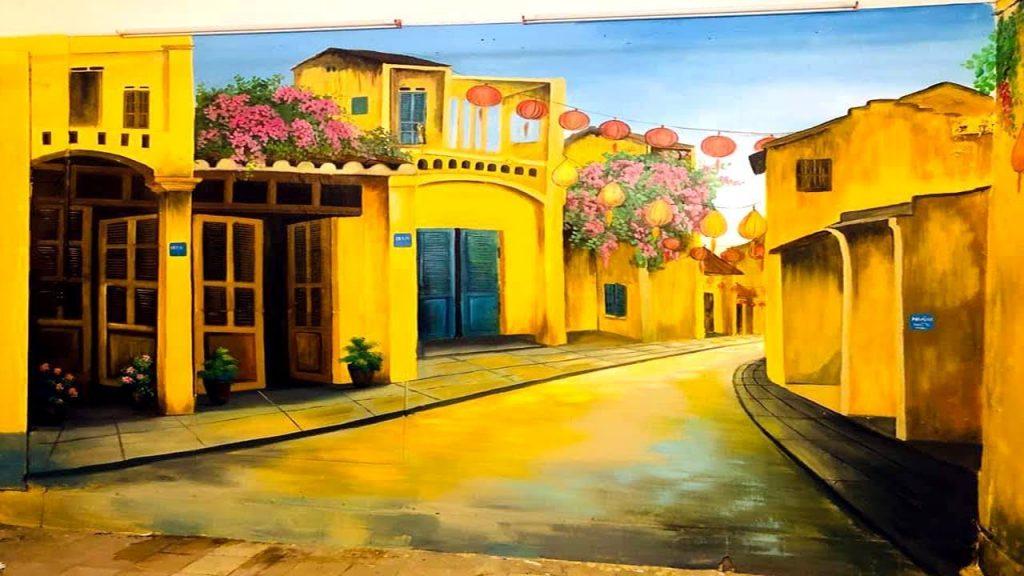 tranh tường phố cổ